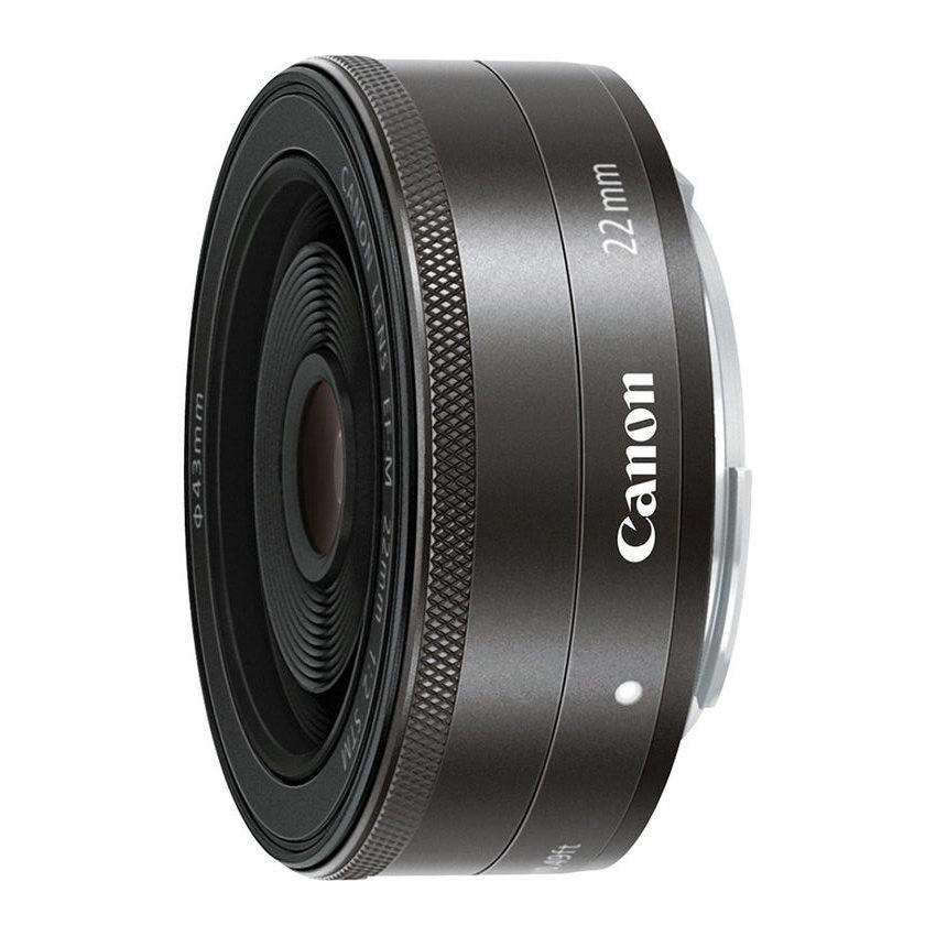 Canon EF-M 22mm f/2.0 STM objectief Zwart - Bulk