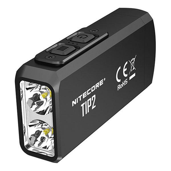Nitecore TIP2 oplaadbare sleutelhangerzaklamp