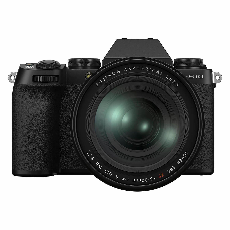 Fujifilm X-S10 systeemcamera Zwart + XF 16-80mm <br/>€ 1499.00 <br/> <a href='https://www.cameranu.nl/fotografie/?tt=12190_474631_241358_&r=https%3A%2F%2Fwww.cameranu.nl%2Fnl%2Fp3208515%2Ffujifilm-x-s10-systeemcamera-zwart-xf-16-80mm%3Fchannable%3D002a5969640033323038353135ef%26utm_campaign%3D%26utm_content%3DSysteemcamera%26utm_source%3DTradetracker%26utm_medium%3Dcpc%26utm_term%3DDigitale%2Bcamera%26apos%3Bs' target='_blank'>naar de winkel</a>