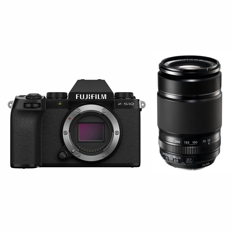 Fujifilm X-S10 systeemcamera Zwart + XF 55-200mm <br/>€ 1599.00 <br/> <a href='https://www.cameranu.nl/fotografie/?tt=12190_474631_241358_&r=https%3A%2F%2Fwww.cameranu.nl%2Fnl%2Fp3208943%2Ffujifilm-x-s10-systeemcamera-zwart-xf-55-200mm%3Fchannable%3D002a596964003332303839343370%26utm_campaign%3D%26utm_content%3DSysteemcamera%26utm_source%3DTradetracker%26utm_medium%3Dcpc%26utm_term%3DDigitale%2Bcamera%26apos%3Bs' target='_blank'>naar de winkel</a>