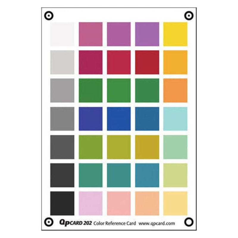 QP Card 202 Kleurkaart