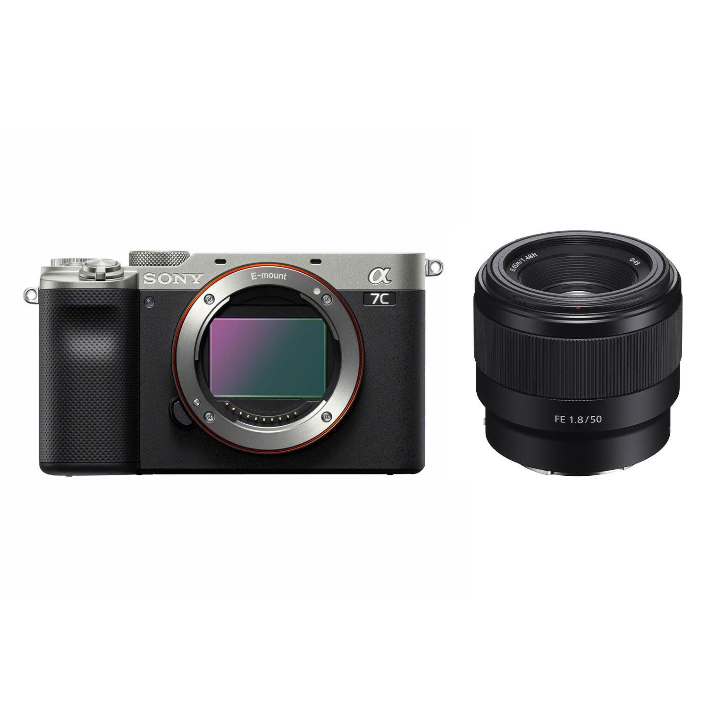 Sony Alpha A7C systeemcamera Zilver + FE 50mm f/1.8 <br/>€ 2229.00 <br/> <a href='https://www.cameranu.nl/fotografie/?tt=12190_474631_241358_&r=https%3A%2F%2Fwww.cameranu.nl%2Fnl%2Fp3215615%2Fsony-alpha-a7c-systeemcamera-zilver-fe-50mm-f-1-8%3Fchannable%3D002a59696400333231353631353f%26utm_campaign%3D%26utm_content%3DSony%2Bsysteemcamera%26utm_source%3DTradetracker%26utm_medium%3Dcpc%26utm_term%3DDigitale%2Bcamera%26apos%3Bs' target='_blank'>naar de winkel</a>