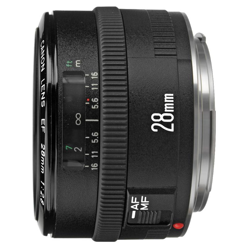 Canon EF 28mm f/2.8 objectief - Tweedehands
