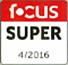 Focus Super predicaat