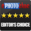 ePHOTOzine Editor's Choice Gold