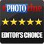 ePHOTOzine Editor's Choice Silver