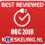 Best reviewed December 2018