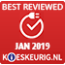 Best reviewed januari 2019
