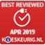 Best reviewed april 2019