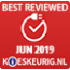 Best reviewed juni 2019