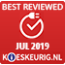 Best reviewed juli 2019