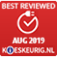 Best reviewed augustus 2019