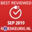 Best reviewed september 2019