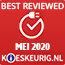 Best reviewed mei 2020
