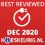 Best Reviewed December 2020