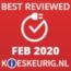 Best Reviewed Februari 2020