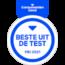 Beste uit de Test in de categorie geavanceerde compact camera's - Consumentenbond mei 2021