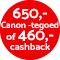 €460,- cashback!