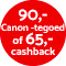 €65,- cashback!