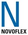 Novoflex Basic-Ball Titan/Blauw