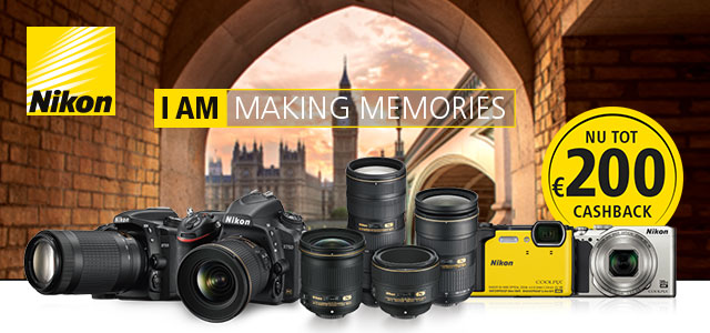 Nikon Cashback - I am making memories