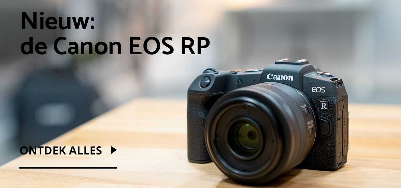 Nieuw: de Canon EOS RP