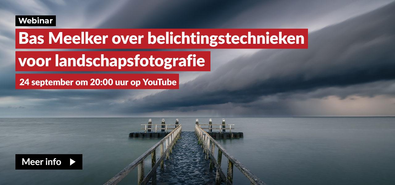 YT Webinar belichtingstechnieken voor landschapsfotografie