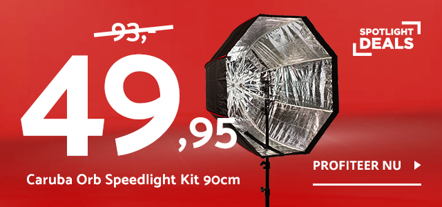 Spotlight Deal - Caruba Orb Speedlight Kit 90cm