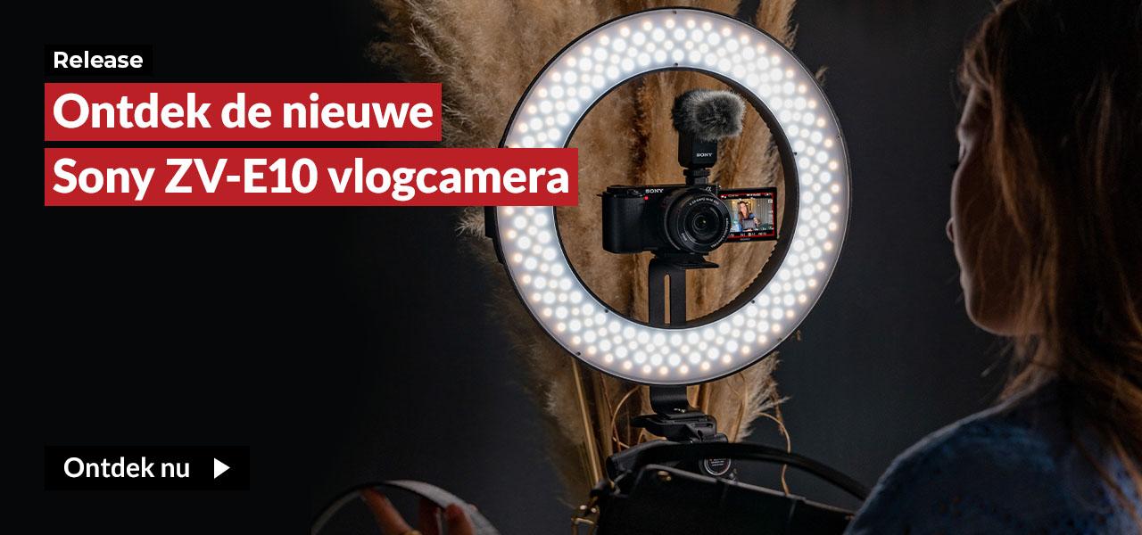 Ontdek de nieuwe Sony ZV-E10 vlogcamera
