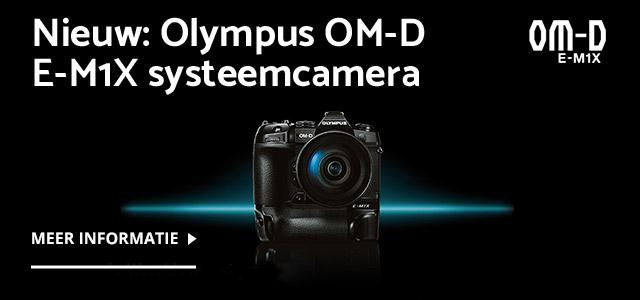Nieuw: Olympus OM-D E-M1X systeemcamera