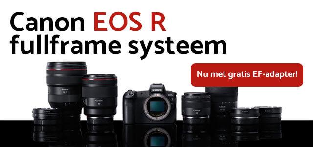 Nieuw: Canon EOS R fullframe systeem