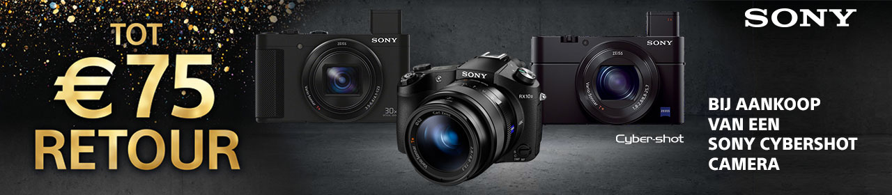 Sony Cyber-Shot Winter cashback