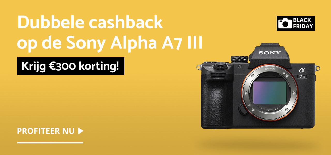 Sony A7 III Black Friday