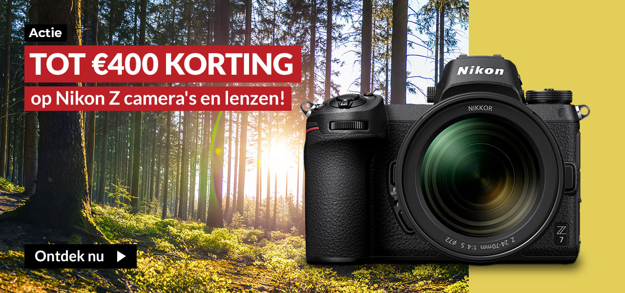 Nikon Z-deals kassakorting