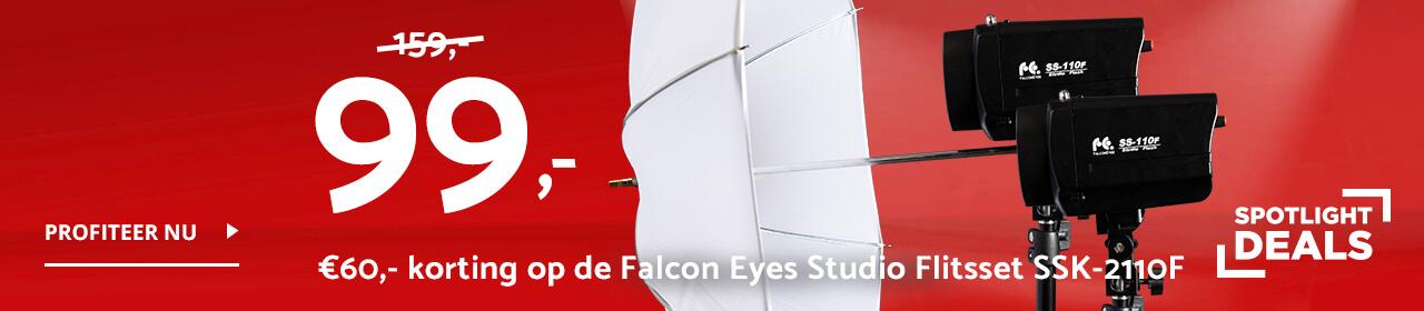 Spotlight Deal - Falcon Eyes Studio Flitsset SSK-2110F