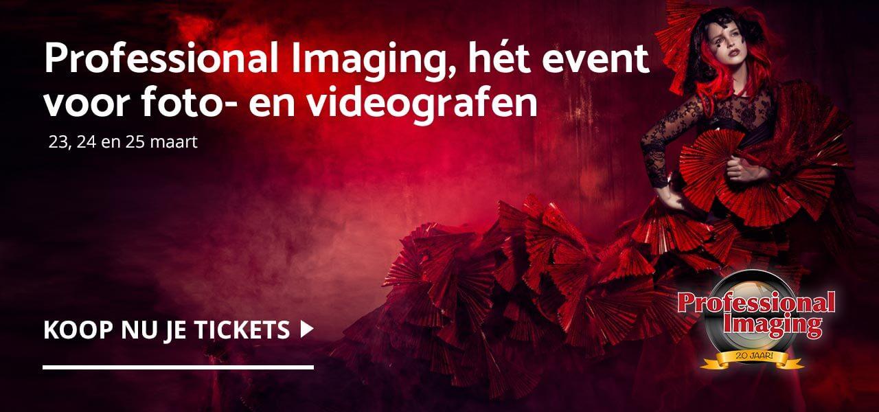 Professional Imaging, hét event voor de foto- en videogra