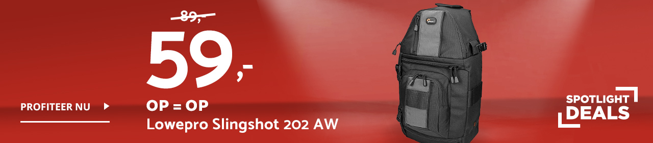 Spotlight Deals Lowepro Slingshot 202 AW rugzak