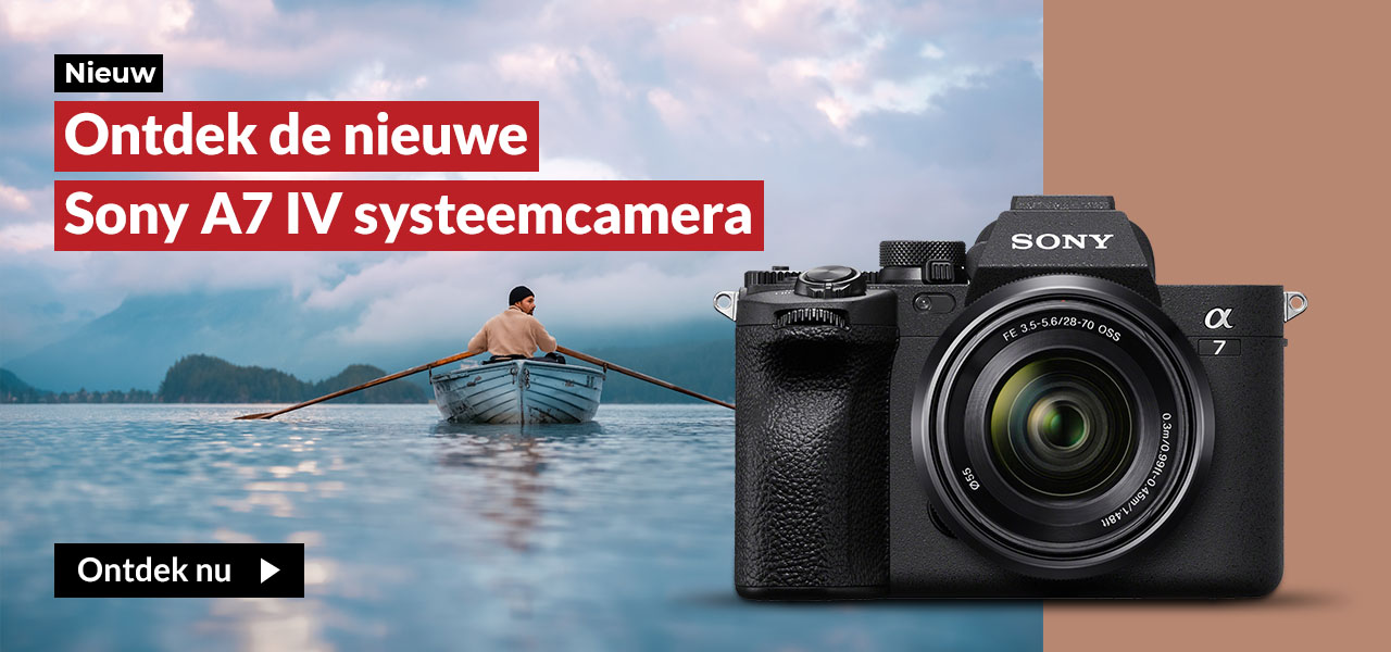 Ontdek de nieuwe Sony A7 IV systeemcamera
