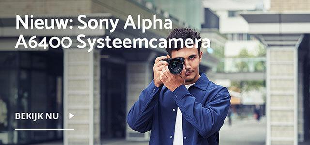 Nieuw: Sony Alpha A6400 systeemcamera