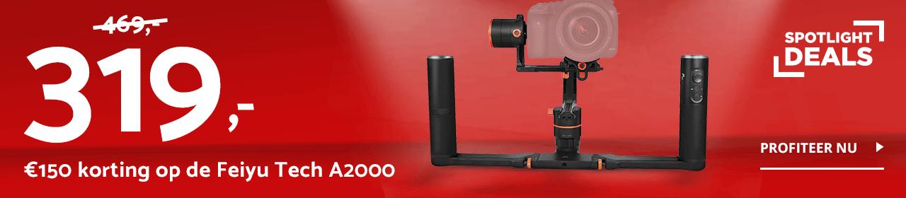 Spotlight Deals - Feiyu Tech A2000 Dual Handheld Gimbal