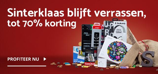 Sinterklaascadeaus bij CameraNU.nl