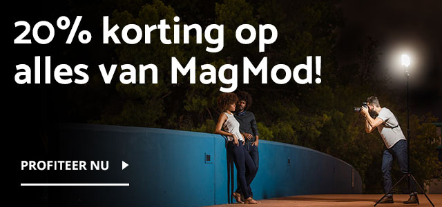20% korting op alles van MagMod