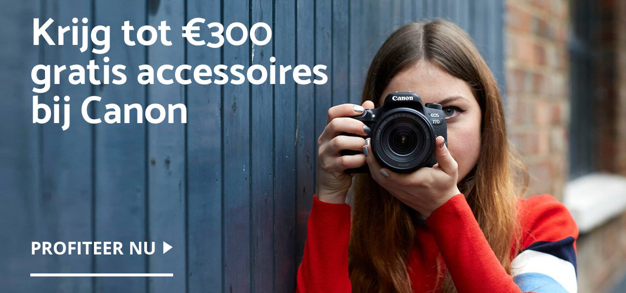 Uniek wintervoordeel op Canon producten bij CameraNU.nl!