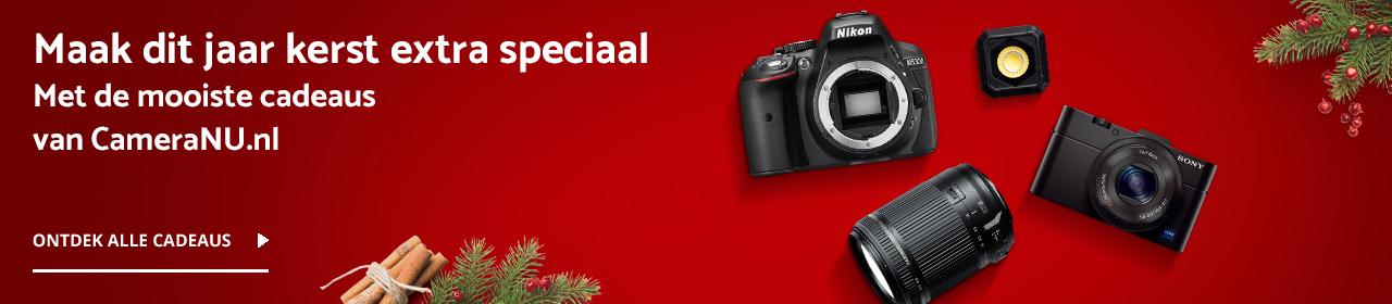 Voor de leukste Kerstcadeaus ga je naar CameraNU.nl