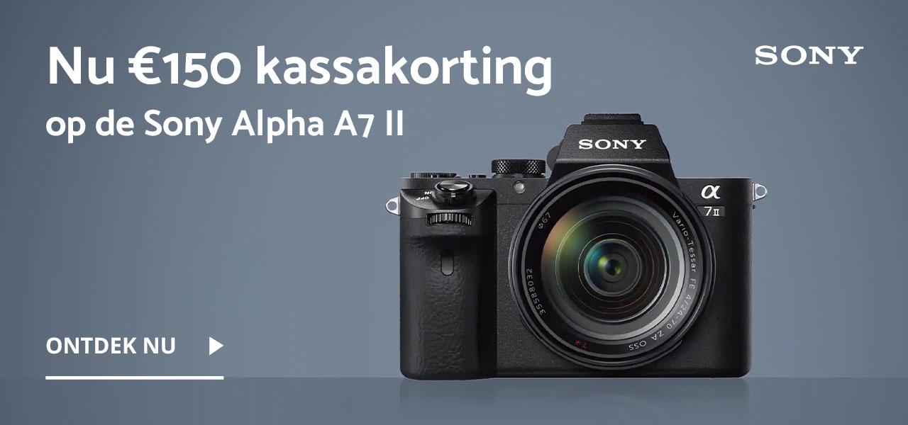 Sony A7 II kassakorting