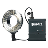 Elinchrom Ranger Quadra Hybrid Lead Set - ECO-RQ Ringflash in koffer