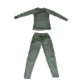 Stealth-Gear Extreme Set Thermo-anti odor underwear Trousers & Shirt (Size: XXXL)