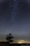 nachtfotografie melkweg kootwijkzerzand