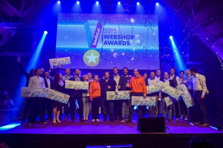 CameraNU.nl winnaar beslist.nl Webshop Awards 2015 - 2