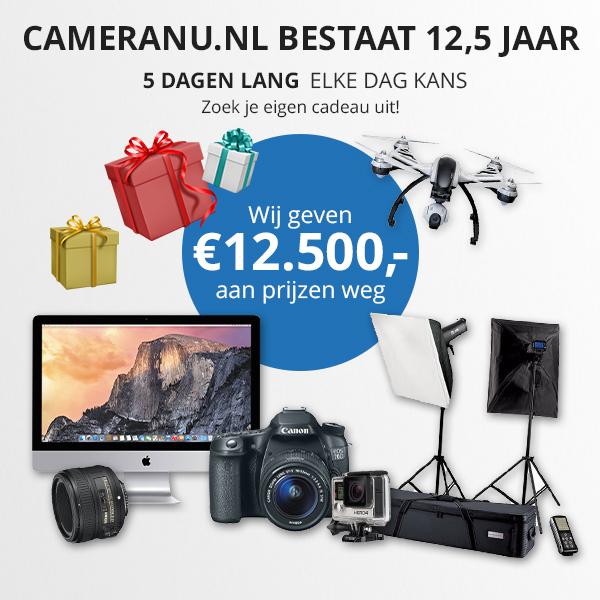 Foto- en videospecialist CameraNU.nl bestaat 12,5 jaar - 2